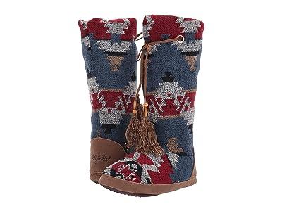 M&F Western Ava Boot Slipper (Red/Blue/Multi) Women