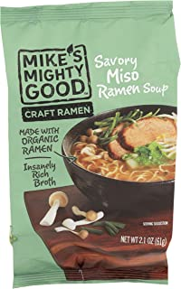 Mikes Mighty Good, Ramen Miso Savory Pillow Pack, 2.1 Ounce