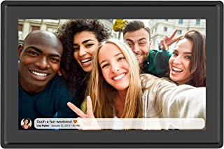Feelcare 10 Inch 16GB Smart WiFi Digital Picture Frame, Send Photos from Anywhere in The World, Touch Screen, 800x1280 IPS...
