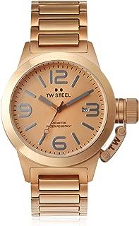 T.W. Steel Women's TW303 Canteen Rose Stainless Steel Watch