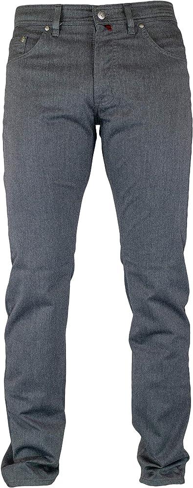 Pierre cardin, jeans da uomo, pantaloni gamba dritta,  62% poliestere, 16% cotone, 20% viscosa, 2% elastan 3196 237.88C
