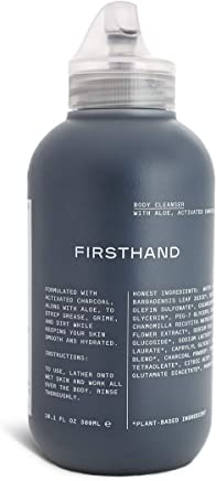 Firsthand Supply Firsthand Supply - Activated Charcoal Body Cleanser, 300 milliliters