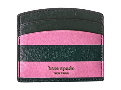 Kate Spade New York Card Holder (Pink Multi) Wallet