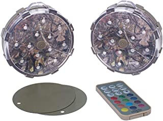GAME 82394-BB Weatherproof All-Purpose Puck, LED Lights, Magnetic Color-Changing, Battery Operated with Remote Control, New Model