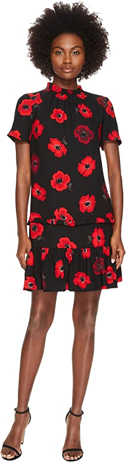 Kate Spade New York - Poppy Ruffle Shift Dress