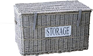 MIMBRE NATURAL BAUL Rattan Storage (90 × 56 × 55)