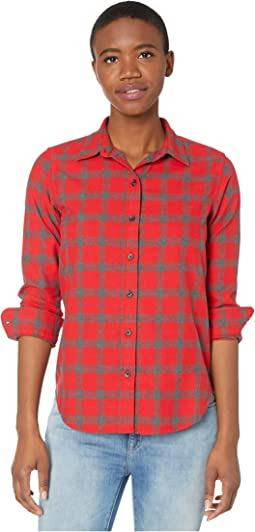 Red/Charcoal Plaid