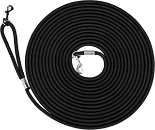 Hi Kiss Dog/Puppy Obedience Recall Training Agility Lead - 15ft 30ft 50ft Training Leash - Great for Training, Play, Camping, or Backyard