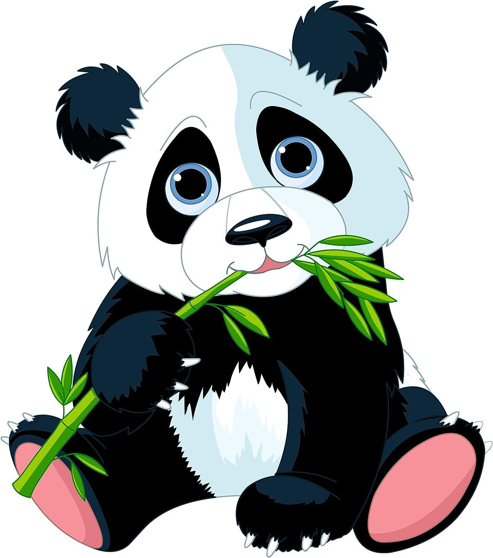PPS. Imaging Wand Aufkleber nibbeln Panda, Kinderzimmer, Bär, Illustration, Illustration, Illustration, Wandtattoo, Wandaufkleber, Tattoos, Wand Aufkleber, Maße  68 x 60 B01N64NJAJ 8ad94d