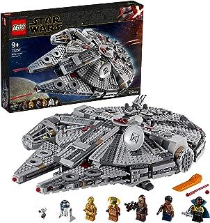 LEGO 75257 Star Wars Faucon Millenium, Set de Construction avec Finn, Chewbacca, Lando, C-3PO, R2-D2, Collection de L'Asce...