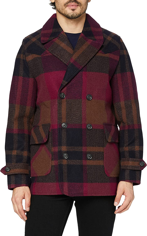 find. Men's Wool Mix Pea Coat