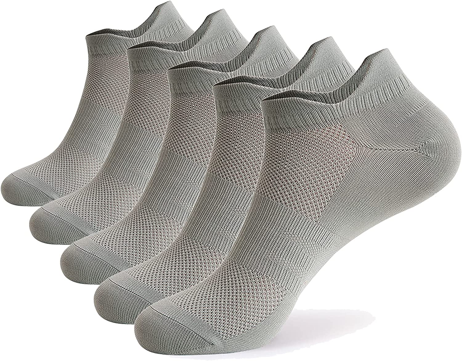 Ultrafun 5 Pairs Unisex Ankle Minneapolis Mall Cushioned Performan Limited price sale Socks Athletic