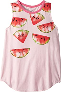 Chaser Kids - Vintage Jersey Watermelons Tank Top (Little Kids/Big Kids)