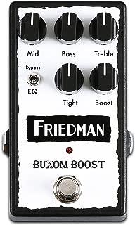 Friedman Amplification Buxom Boost Guitar Effects Pedal
