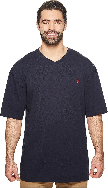 Polo Ralph Lauren Short Sleeve Solid V-Neck Jersey Tee