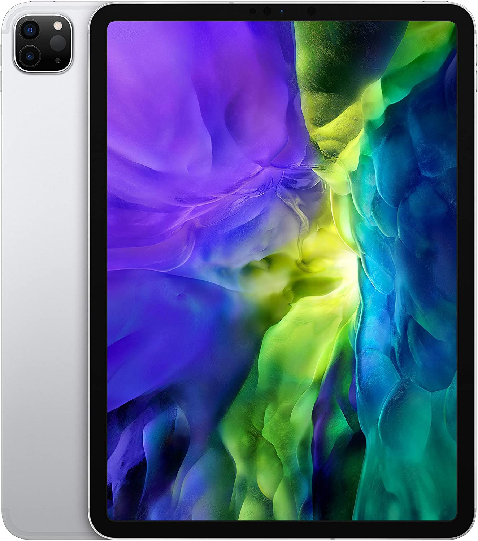 Apple iPad Pro (11-inch, Wi-Fi + Cellular, 256GB) - Silver (2nd Generation) (2020) (Renewed)
