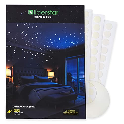 ad8e6a2dc163 Glow In The Dark Stars Wall Stickers