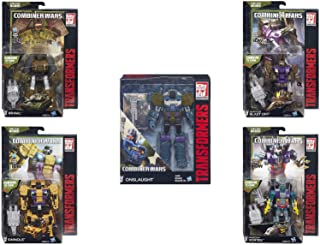 Transformers Generations Combiner Wars Bruticus Action Figure Set (Onslaught, Vortex, Brawl, Swindle and Blast Off) …