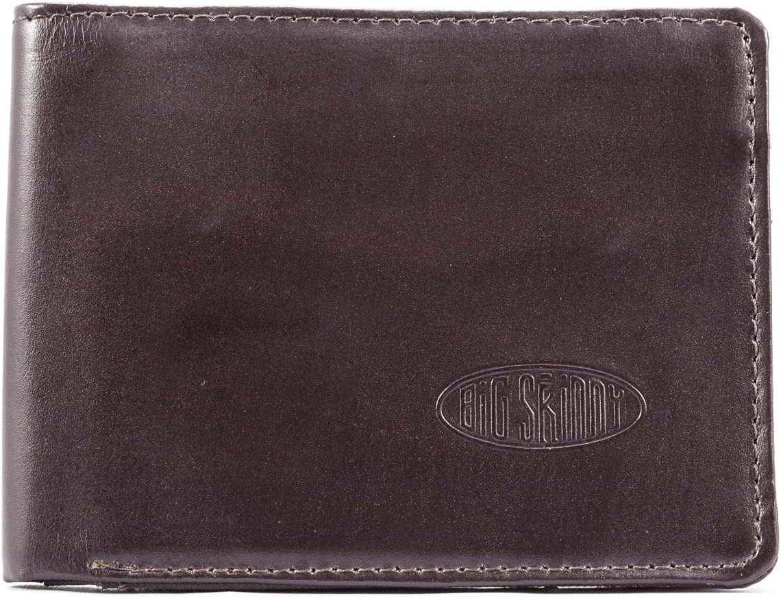 Big 2021 Skinny Men's L-Fold Passcase Challenge the lowest price of Japan ☆ Leather Holds t Wallet Up Slim