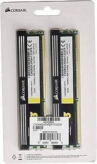 Corsair XMS3 8 GB (2 x 4GB) 1333 MHz PC3-10666 240-Pin DDR3 Memory Kit 1.5V