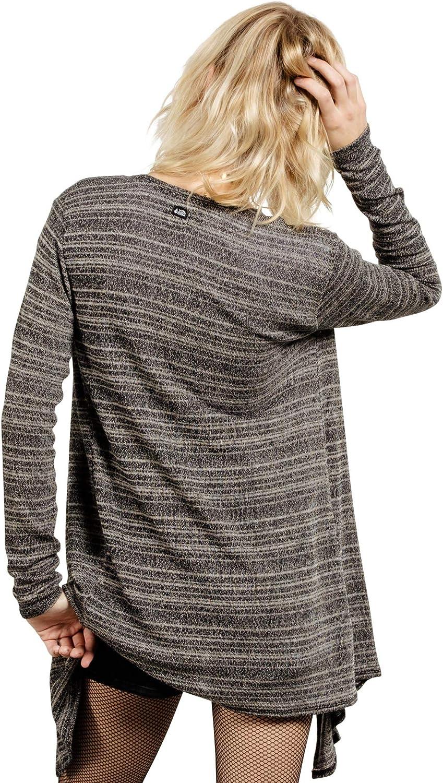 Volcom Womens Go Go Wrap Open Front Cardigan Sweater Regular /& Plus Size