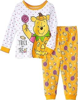 Winnie The Pooh Baby Girl's Glow-in-The-Dark Halloween Pajama Set (18 Months)