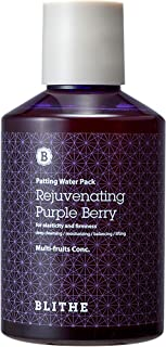 Blithe Patting Splash Mask Rejuvenating Purple Berry for Elasticity & Firming, 150 Milliliter