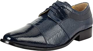 LIBERTYZENO Liberty Mens Derby Dress Shoes | Non Leather Lace Up