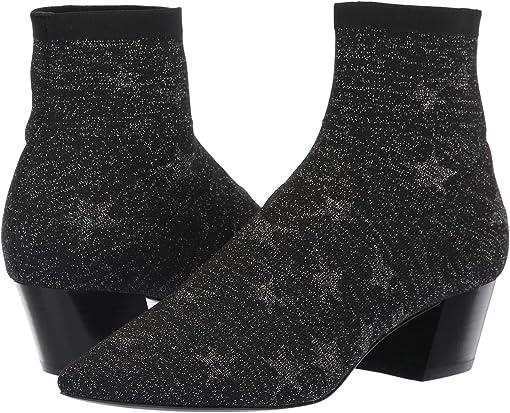 Black/Silver Star Knit