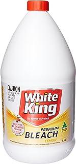 White King Premium Lemon Bleach, 2.5 liters