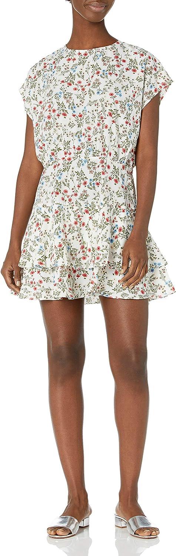 Sugar Lips Women's Sale Katarina Floral Print Dress Max 51% OFF Mini Ruffled