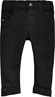 GULLIVER Hosen Junge Hose Kinder Jungen Chino Schwarz 7-10 Jahre 122-140 cm