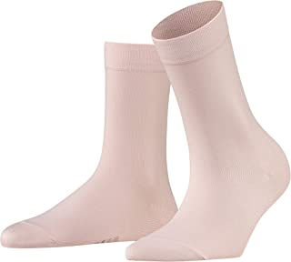 FALKE Socken Cotton Touch Baumwolle Damen weiß schwarz viele weitere Farben verstärkte Damensocken ohne Muster atmungsaktiv dünn und einfarbig 1 Paar