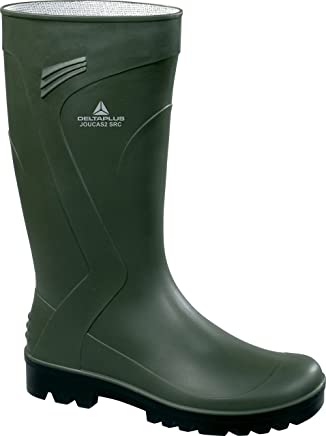 Panoply Joucas High Quality Green Work Gardening Wellies Wellingtons With P.V.C. Nitrile Soles (UK 9/EURO 43) : boots