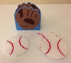 Baseball and Glove Drink Coasters