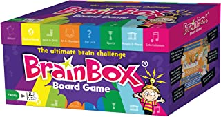 The Green Board Game Co. BrainBox Board Game - The Ultimate Brain Challenge