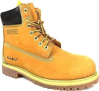 حذاء LABO من الجلد الفاخر المقاوم للماء بنعل مطاطي من CITISHOESNYC