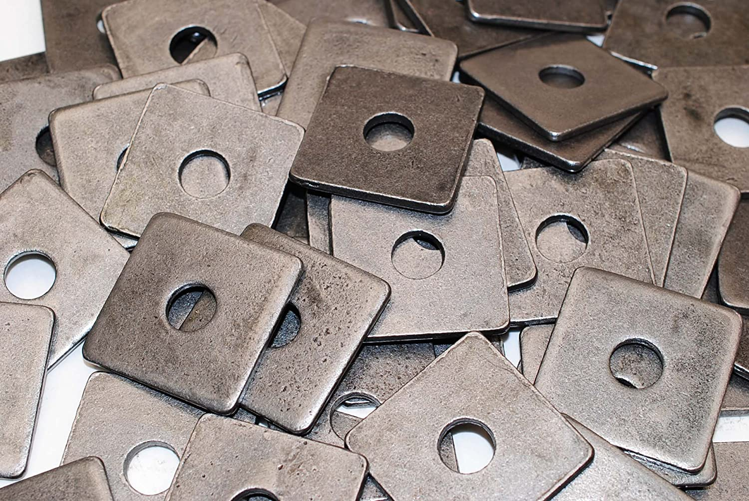 2021 new 40 Plain Brand Cheap Sale Venue Steel 1 2 x Square Thick 3 Washers 16 Plate Unplate