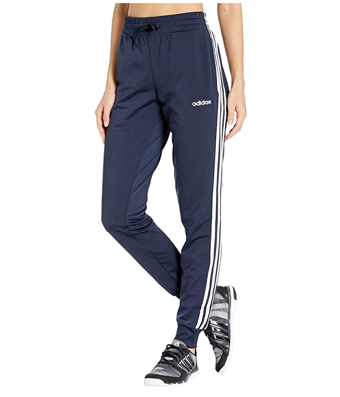 adidas  3-Stripe Tricot Jogger (Legend Ink/White) Womens Workout