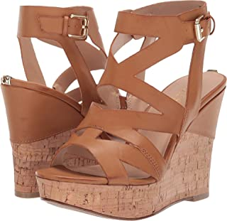 ce35ad6531 Amazon.com: Brown Cork Wedge Sandals: Clothing, Shoes & Jewelry