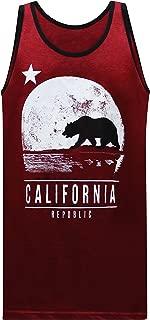 California Republic Moonwalk Men's Muscle Tee Tank Top