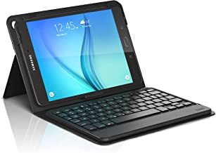 ZAGG Messenger Folio Case and Bluetooth Keyboard for Samsung Galaxy Tab 8.0 - Black