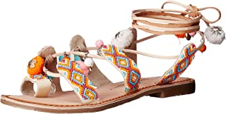 Women's Posh Toe Ring Pom Pom Sandal