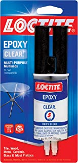 Loctite Epoxy Clear Multi-Purpose, 0.85-Fluid Ounce Syringe (1943587)