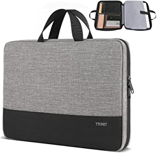 Ytonet Laptop Case, 15.6 inch TSA Laptop Sleeve Water Resistant Durable Computer Carrying Case for 15.6 inch HP, Dell, Len...