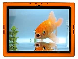 Bobj Rugged Case for Google Pixel C 10-inch Tablet - BobjGear Custom Fit - Patented Venting - Sound Amplification - BobjBounces Kid Friendly (Outrageous Orange)