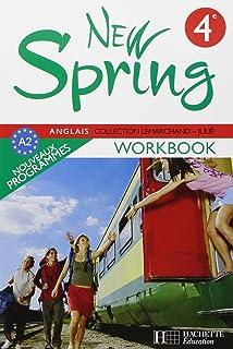 New Spring 4e LV1 - Anglais - Workbook - Edition 2008