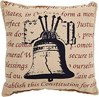 VHC Brands 24983 Independence Bell Pillow 12x12