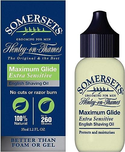 popular Somersets new arrival Sensitive discount Shave Oil 1.2 fl oz (35 ml) (2-pk) sale