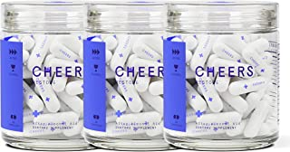Cheers (Formerly Thrive+) Restore Hangover Cure - Hangover Pills (108 Count) for Morning After Hangover Prevention - Reduces GABAa Rebound. Flavonoid Supplement with DHM and Milk Thistle